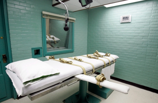 Death chamber in Texas