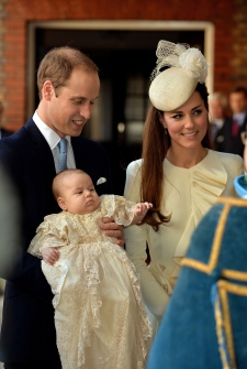 Prince George royal christening St. James's Palace