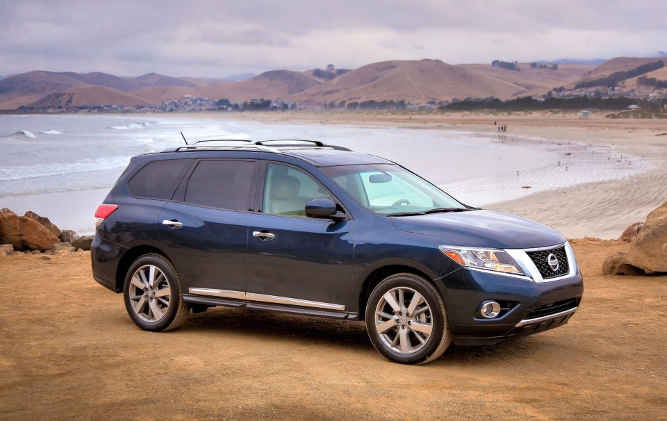 This undated image provided by Nissan shows the 2013 Nissan Pathfinder. (AP / Nissan)
