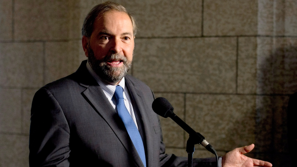 Thomas Mulcair slams harper over senate scandal