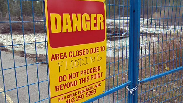 provincial parks, Alberta Flood 2013, flood fundin