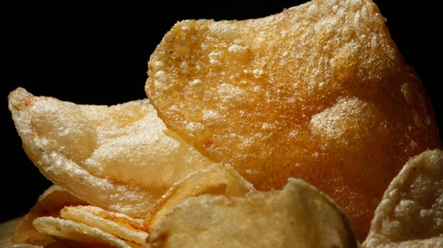 Potato chips are displayed on Wednesday, June 22, 2011.  (AP / Matt Rourke)