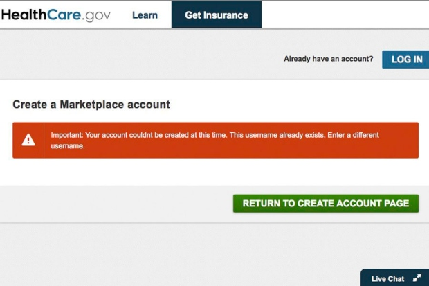 U S  health insurance website failures surface at Hill