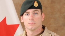 Cpl. Joshua Caleb Baker was killed during a training accident at a range northeast of Kandahar city. (THE CANADIAN PRESS/ho-Canadian Armed Forces)