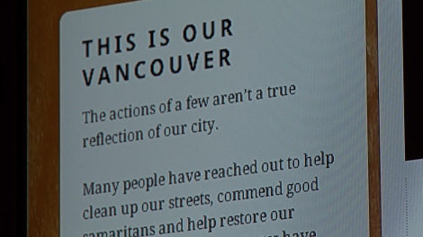 Vancouverites are leaving messages of love for their city on thisismyvancouver.ca. June 29, 2011. (CTV)