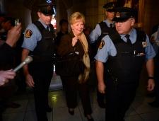 Senate scandal Wallin suspended