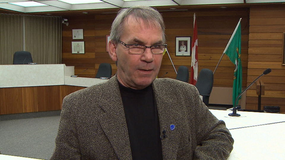 Mayor Ian Hamilton tells CTV News he's listening to the community's concerns, from North Battleford, Sask. on Thursday, Oct. 24, 2013.
