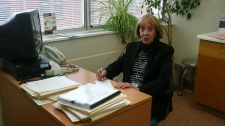 St. Michael's Hospital brain injury specialist, Dr. Donna Ouchterlony , is seen in this undated image.