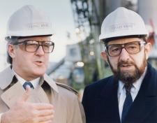 Brian Mulroney and Paul Reichmann