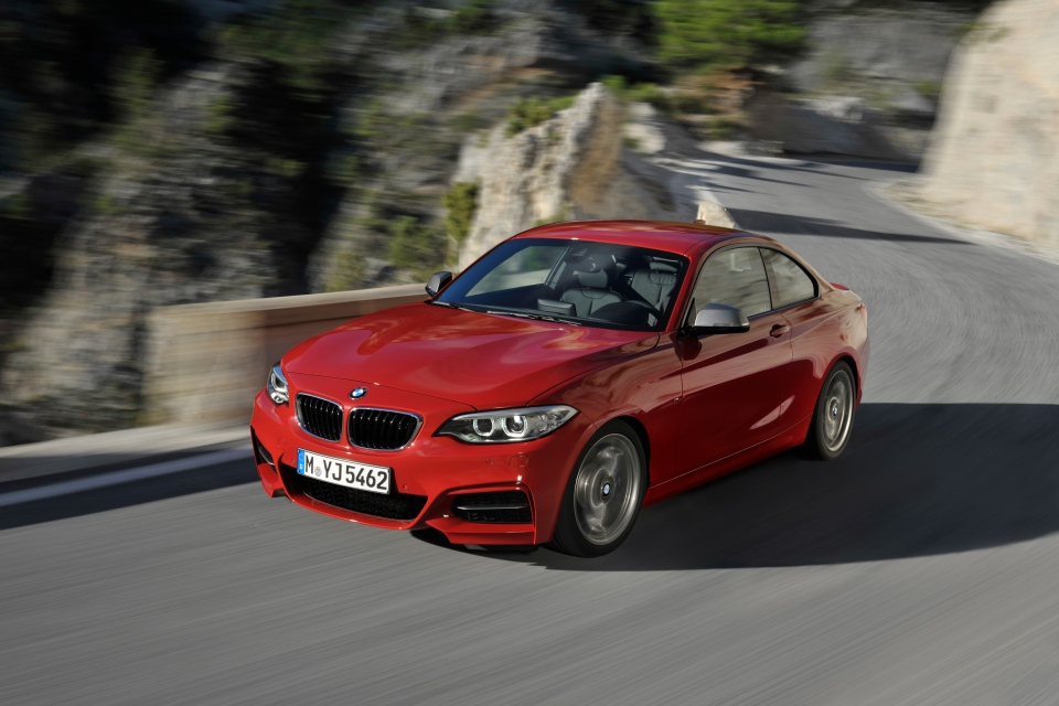The new BMW 2 Series coupe (Photo: BMW)