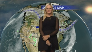 Celebrity Weather: Aleksandra Wozniak