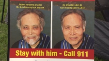 An artist's rendering of what 64-year-old Shin Noh could look like now, more than a month after he was last seen. (CTV)
