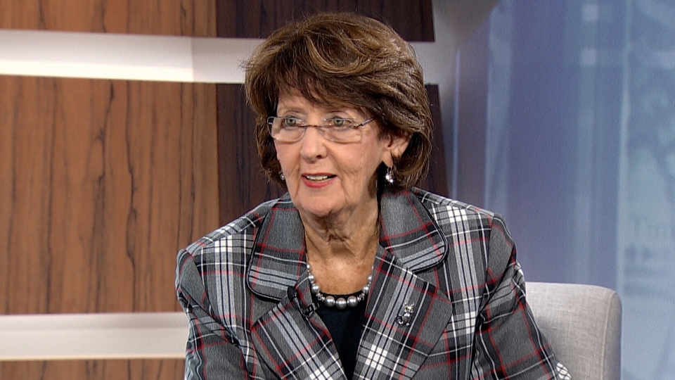 Sen. Marjory LeBreton appears on CTV's Question Period from Ottawa on Sunday, Oct. 26, 2013.