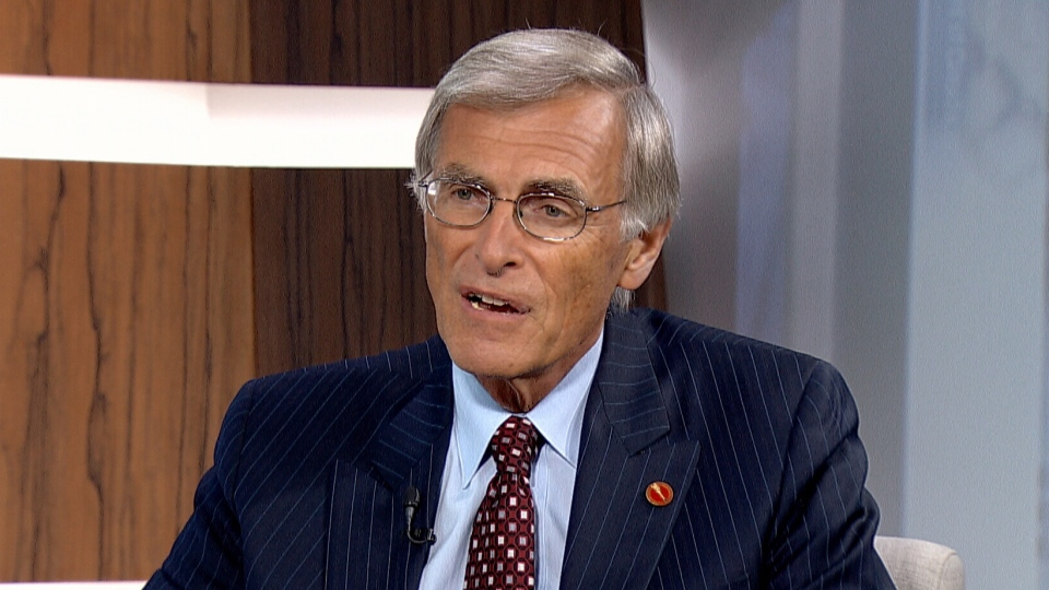 Senate Opposition Leader James Cowan appears on CTV's Question Period from Ottawa on Sunday, Oct. 26, 2013.