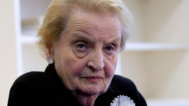 'I Stand Ready to Register as Muslim': Madeleine Albright