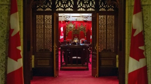 The Senate on Parliament Hill in Ottawa on Thursday, Oct. 24, 2013. (Sean Kilpatrick / THE CANADIAN PRESS)