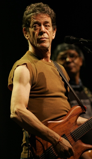 Singer Lou Reed