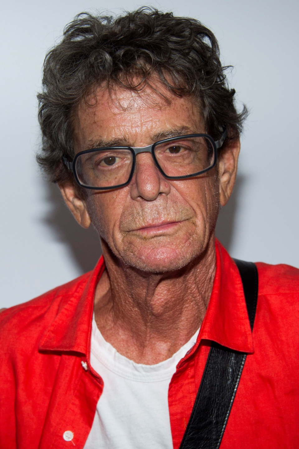 Lou Reed attends the 'Breaking Bad' final episodes premiere hosted by the Film Society of Lincoln Center in New York, Wednesday, July 31, 2013. (Charles Sykes / Invision)