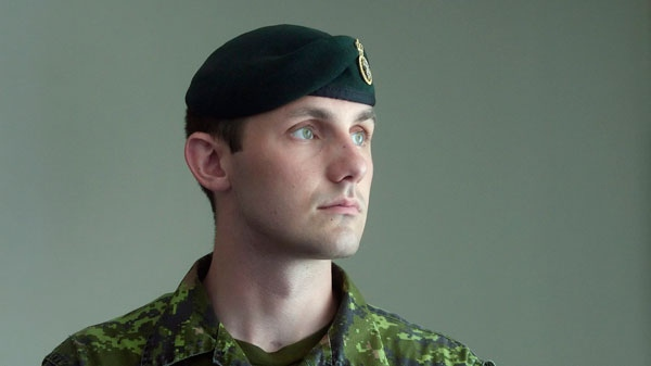 Cpl. Will Salikin, 24, in Edmonton, July 17, 2007, was seriously injured while on duty in Afghanistan when a suicide bomber crashed into the G Wagon he was riding in January 16, 2006. For months, the young soldier ventured far from his military base in Edmonton to seek help for a problem that had robbed him of his sense of humour and left him haunted by memories of comrade's bodies being loaded into helicopters in the deserts of Afghanistan. (Jason Scott / THE CANADIAN PRESS)