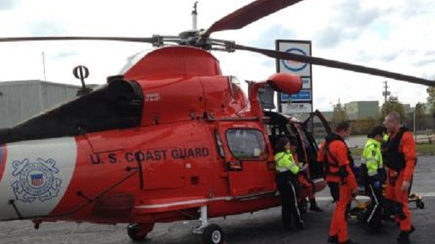US Coast Guard rescue