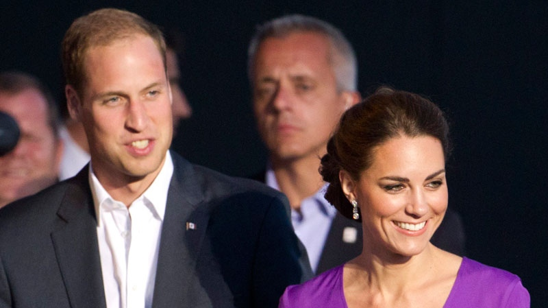 Prince William and Kate, the Duke and Duchess of Cambridge, arrive at a Canada Day celebration on Parliament Hill in Ottawa, Canada, Friday, July 1, 2011. (AP / Charlie Riedel)