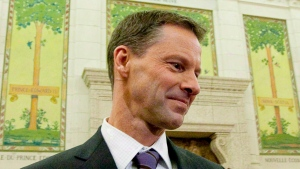 Nigel Wright, then-chief of staff for Prime Minister Stephen Harper, is shown appearing at the Standing Committee on Access to Information, Privacy and Ethics on Parliament Hill in Ottawa on Nov. 2, 2010. (Sean Kilpatrick / THE CANADIAN PRESS)