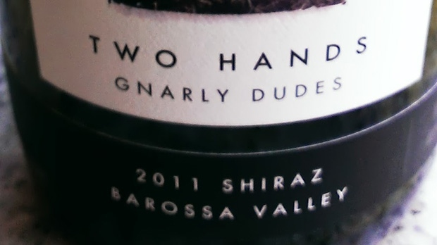 Two Hands Wines Gnarly Dudes Shiraz 2011