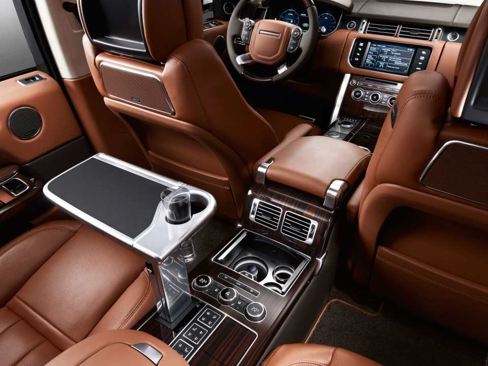 Range Rover Autobiography Black Interior  (Jaguar Land Rover)