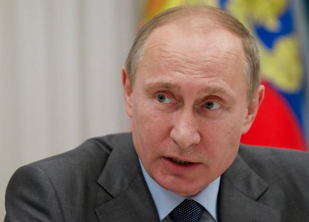 Vladmir Putin in Sochi Russia