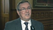 Environment Minister Jim Bradley on emissions test