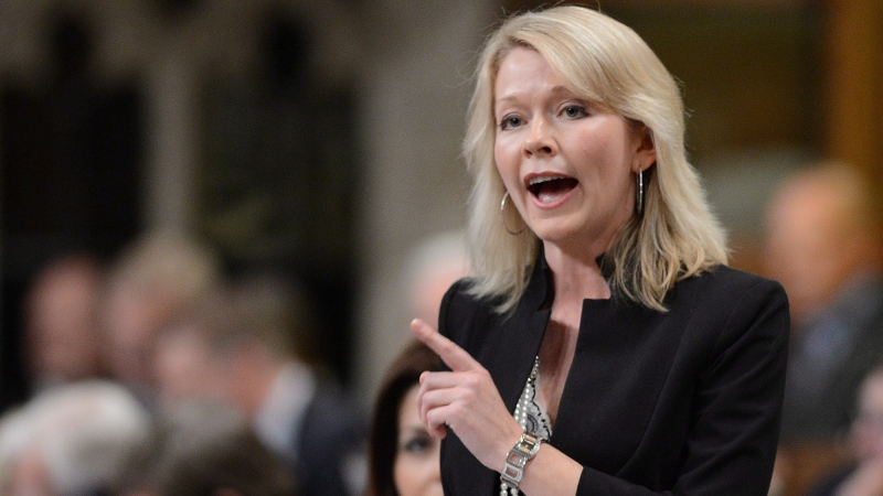 Conservative MP Candice Bergen responds to a question during Question Period in the House of Commons on Parliament Hill in Ottawa on Thursday, June 13, 2013. THE CANADIAN PRESS/Sean Kilpatrick