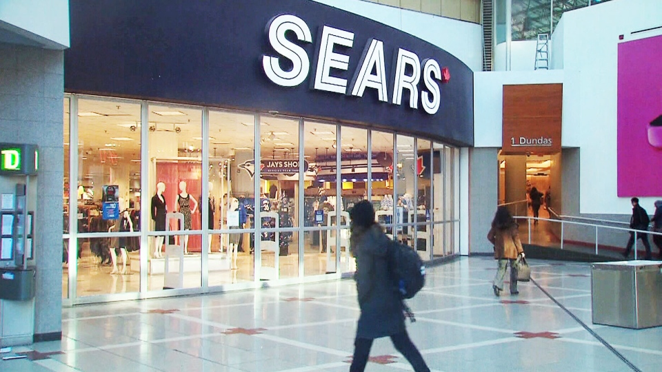 Sears Canada is closing its flagship location in Toronto's Eaton Centre, as well as four other stores, in a move that will affect almost 1,000 employees.