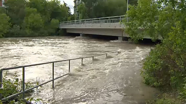 City of Calgary, Riverbank assessment, Bow River,