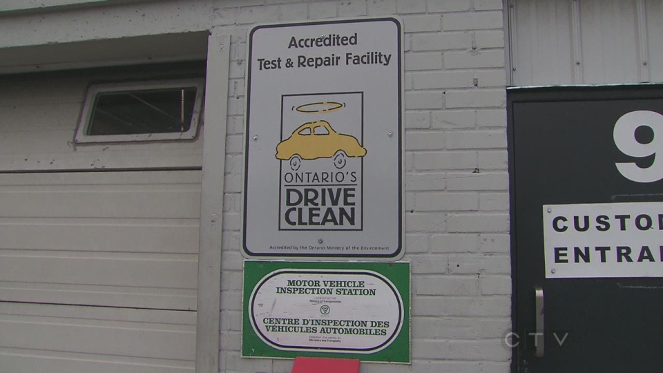 how to get drive clean test in toronto