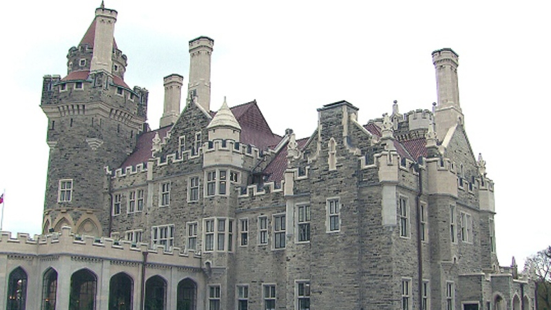A collector coin to celebrate Toronto's historical Casa Loma was unveiled today at the landmark castle.