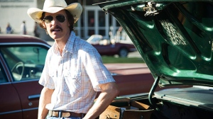 Matthew McConaughey as Ron Woodroof in a scene from Remstar Films' 'Dallas Buyers Club'