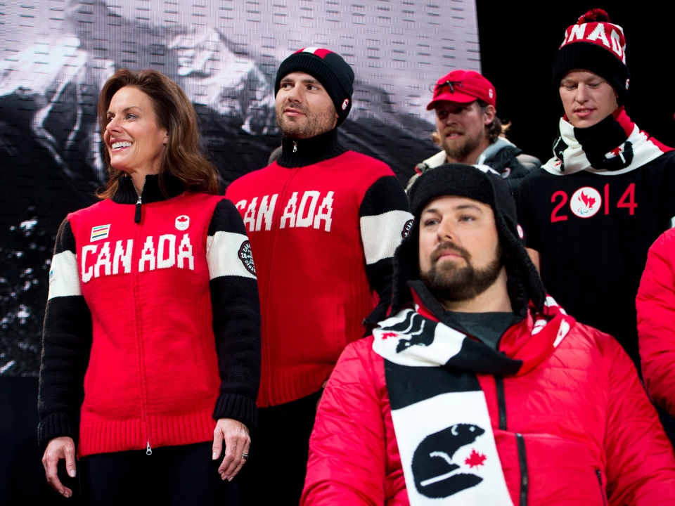 Team Canada Olympic jerseys