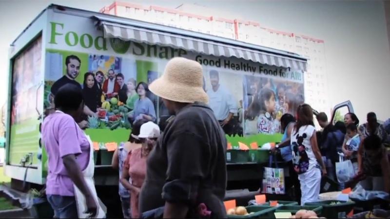 Mobile food market to tour city