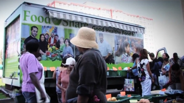 Mobile food market to tour city
