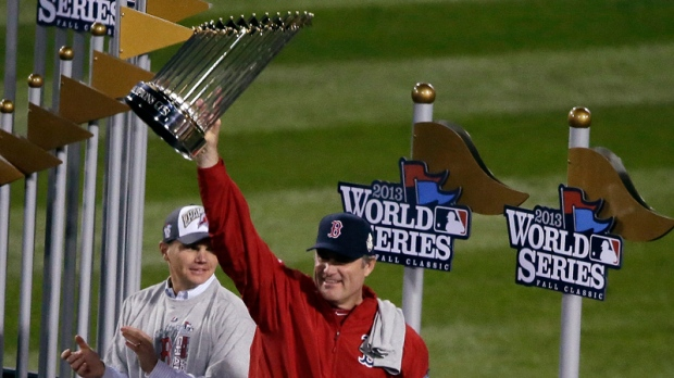 John Farrell helps Boston win World Series