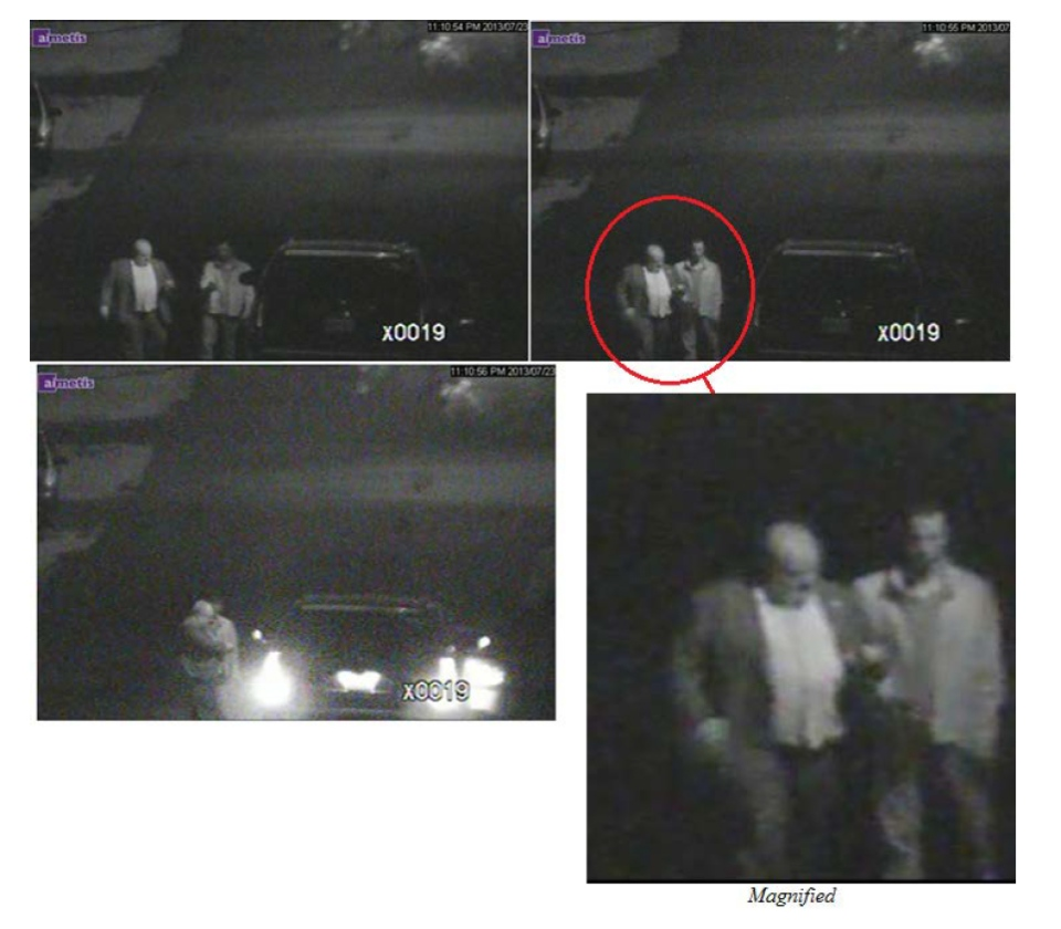 Toronto Mayor Rob Ford is seen in this photo included in the documents released by an Ontario Superior Court judge, Thursday, Oct. 31, 2013.