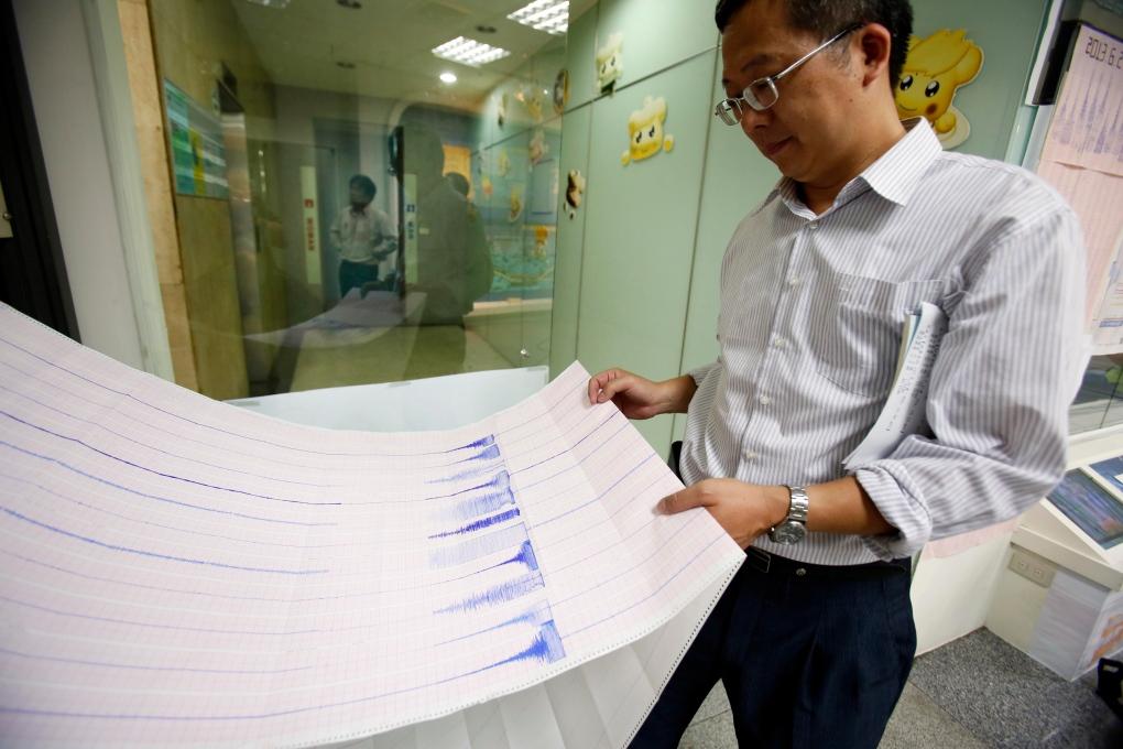 Taiwan earthquake measured magnitude 6.3