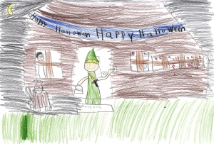 Ryder Chapman, 8 years old, Grade 3, St. Clare Catholic School