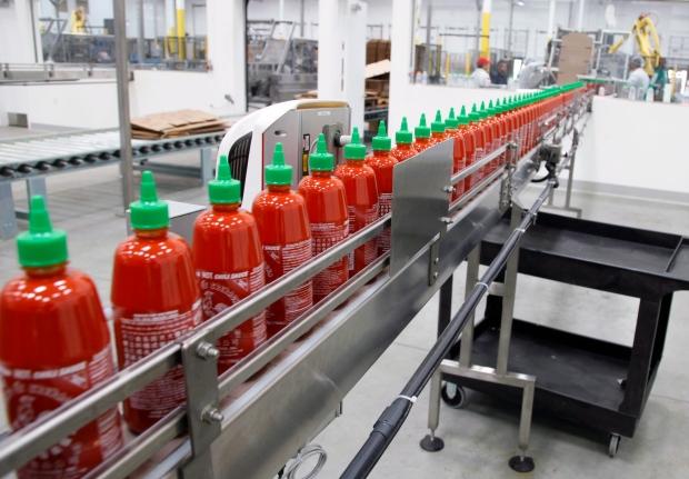 Huy Fong Foods Sriracha factory, Irwindale, Calif.