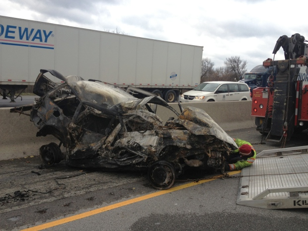 Caledonia Car Accident Today