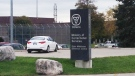 An inmate was found dead at the Elgin Middlesex Detention Centre in London, Ont. on Friday, Nov. 1, 2013. (Gerry Dewan / CTV London)