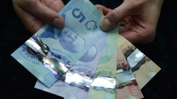 Women on Canadian bank notes