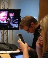 Journalists covering Rob Ford's radio show