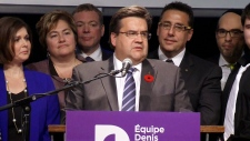 Denis Coderre elected mayor of Montreal