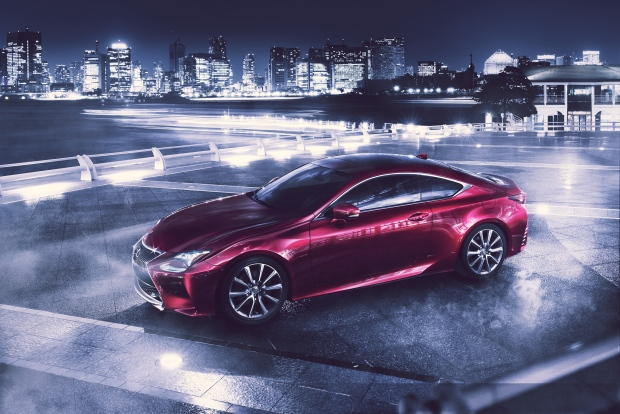 Lexus RC Coupe to soon debut